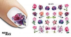 Слайдер-дизайн для ногтей New Max SD-275
