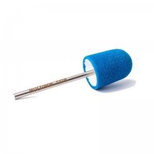 Педикюрная насадка многоразовая Multibor ФИНИШ - Стандар 127B Синяя (150 грит)