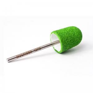 Педикюрная насадка многоразовая Multibor Интенсив - Стандар 127G Зеленая (80 грит)