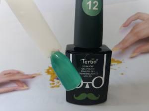 Гель-лак Tertio Baffo 10мл №12 темная бирюза