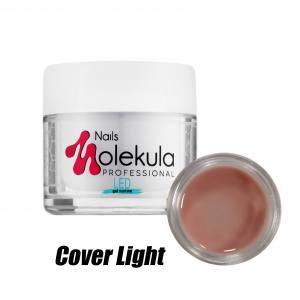 Гель камуфлирующий Molekula №13 Cover Light  LED (розово-бежевый) 15мл
