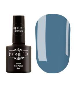 Гель-лак Komilfo Deluxe Series №D130 (темный, серо-голубой, эмаль), 8 мл