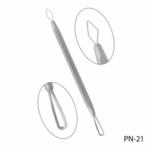 Двухсторонняя косметологическая петля для чистки лица PN-21