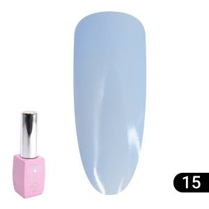 Цветная френч база для гель лака Global Fashion Color French Base Coat 8 мл, 15