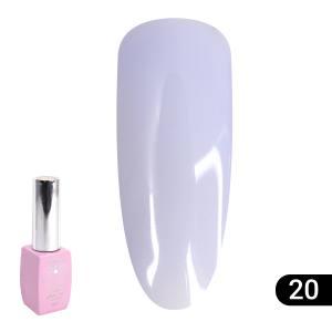 Цветная френч база для гель лака Global Fashion Color French Base Coat 8 мл, 20