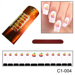 Фотодизайн для ногтей С1-004 Macintosh