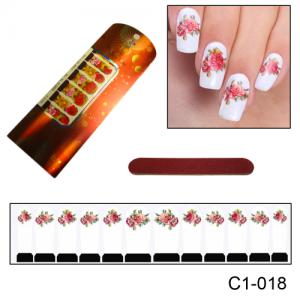 Фотодизайн для ногтей С1-018 роза