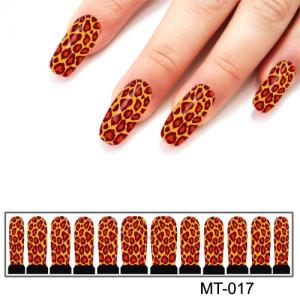 Фотодизайн для ногтей MT-17 тигр