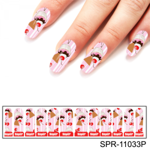Фотодизайн для ногтей SPR-11033R пирожные