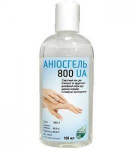 Аниосгель 800 UA 100 мл дезинфицирующее средство для рук