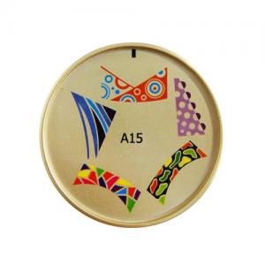 Силиконовый диск для многоцветного стемпинг арт A15