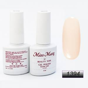 Гель-лак Miss Mary 8ml № 1394 ( теплый беж )