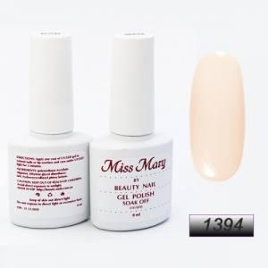 Гель-лак Miss Mary 8ml № 1394 ( теплый беж )