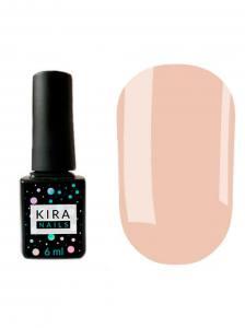 Гель-лак Kira Nails №140 (нежно-розовый, эмаль), 6 мл