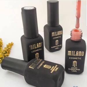 Каучуковая камуфлирующая база Milano 12ml, Cover rubber Base Gel №04
