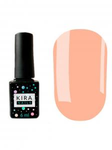 Гель-лак Kira Nails №141 (бежево-розовый, эмаль), 6 мл