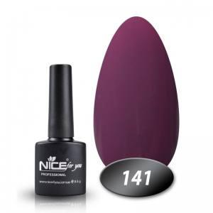 Гель-лак Nice 8.5мл №141 лилово-розовый
