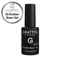 Каучуковая база для гель-лака Grattol IQ Rubber Base (для аллергиков)