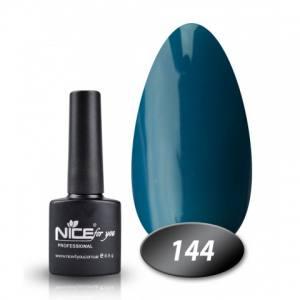 Гель-лак Nice 8.5г №144 сине-бирюзовый