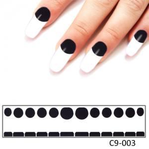 Фотодизайн для ногтей С9-03 черная лагуна