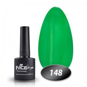 Гель-лак Nice for you № 148 (лесной зеленый) 8.5 мл