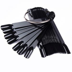 Палитра веер черного цвета