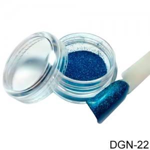 Пудра зеркальная голубая роза DGN-22