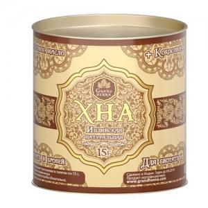 Хна индийская коричневая для бровей от GRAND Henna, 15г