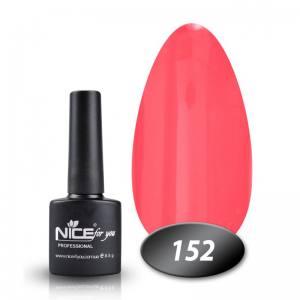 Гель-лак Nice for you № 152 (лососево-персиковый) 8.5 мл