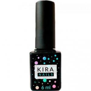Kira Nails No Wipe Top Coat - закрепитель для гель-лака БЕЗ липкого слоя, 6 мл