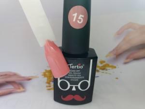 Гель-лак Tertio Baffo 10мл №15 бежево-персиковый