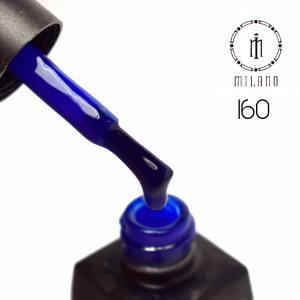 Гель лак MILANO 8мл 160 королевский синий