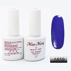 Гель-лак Miss Mary 8ml № 1659 ( королевский синий )