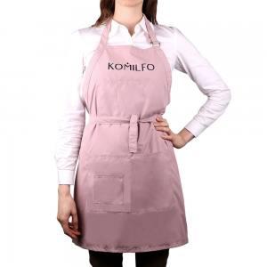 Фартух Komilfo короткий (пудра), 67*72,5 см