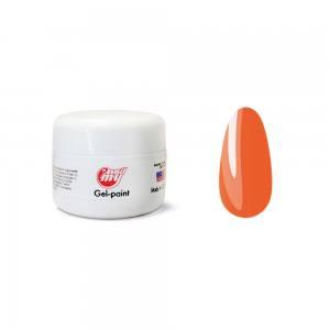 Гель-краска для ногтей My Nail №73 неоновый оранжевый