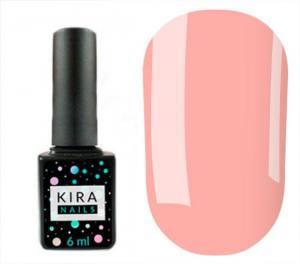 Гель-лак Kira Nails №169 (персиковый фатин, эмаль), 6 мл