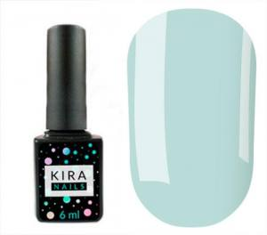 Гель-лак Kira Nails №168 (морская пена, эмаль), 6 мл