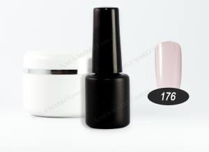 Гель-лак на розлив 5г №176 серо-розовый