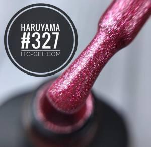 Гель-лак Haruyama Классика №327, красный с мелкими блестками, 8 мл