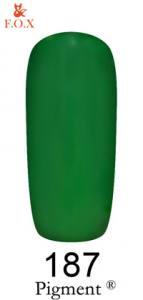 Гель-лак F.O.X. Pigment №187