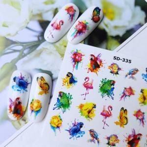 Слайдер-дизайн для ногтей New Max SD-335