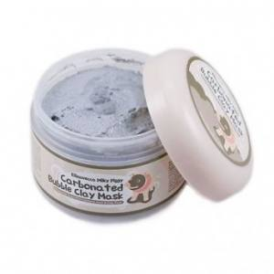 Глиняно-кислородная маска для лица ELIZAVECCA Milky Piggy Carbonated Bubble Clay Pack 100 мл