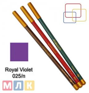 Jovial Luxe Карандаш для губ и глаз деревянный ML-180 №25 royal violet, 1,8 г