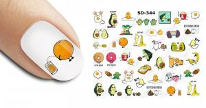 Слайдер-дизайн для ногтей New Max SD-344