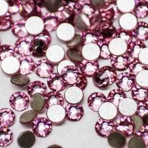 Стразы для ногтей стекло Rose SS3  100шт