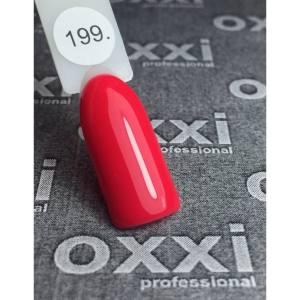 Гель лак Oxxi №199 8мл кораллово-розовый
