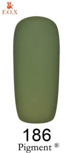 Гель-лак F.O.X. Pigment №186