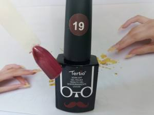Гель-лак Tertio Baffo 10мл №19 гнилая вишня