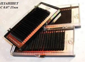 Ресницы I-Beauty C-0.07 планшет 15мм