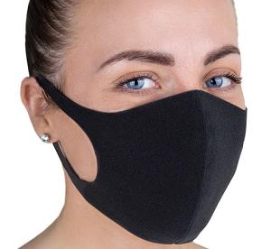 Защитная маска Pitta для лица черная (оригинал)